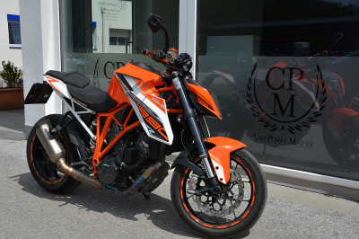 KTM 1290 Superduke R**AKRAPOVIC**CARBON** bei Gebrauchtwagen Car-Point Mayer, Vomp in Tirol in gepflegte Gebrauchtwagen von Car-Point Mayer aus Vomp in Tirol
