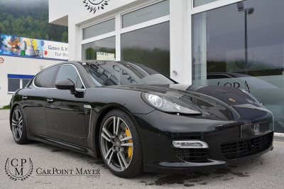 Porsche Panamera Turbo DSG**KERAMIK**BOSE**PANO**ACC** bei BM || Car Point Mayer in
