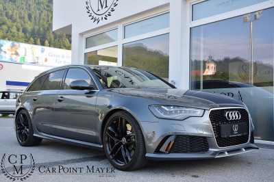 Audi RS6 Avant 4,0 TFSI quattro**DYNAMIK-PAKET**LED**PANO**HEAD-UP** bei BM || Car Point Mayer in