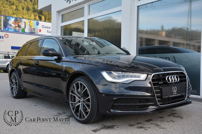 Audi A6 Avant 3,0 TDI quattro DPF**S-LINE**VOLL-LED**TOP-VIEW**KOMFORTSITZE** bei BM || Car Point Mayer in