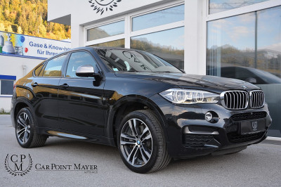 BMW X6 M50d Sport Activity Coupé Aut.**M-SPORTPAKET**LED**SURROUND VIEW**H&K**EURO6** bei BM || Car Point Mayer in