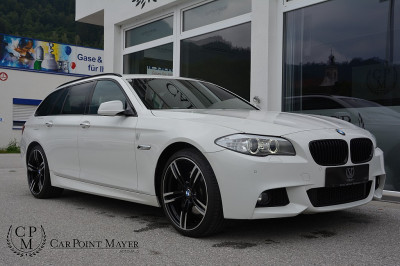 BMW 525d xDrive Touring Aut.**M-PAKET**XENON**NAVI**ALCANTARA**PDC** bei BM || Car Point Mayer in