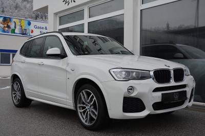 BMW X3 xDrive 20d M Sport Aut.**M-SPORTPAKET**BI-XENON**NAVI PROF.**RFK**AHK**EURO6** bei BM || Car Point Mayer in