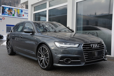 Audi A6 Avant 3,0 TDI Quattro Sport S-tronic**S-LINE PLUS**LED**LUFT**PANO**ACC** bei BM || Car Point Mayer in