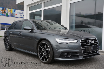 Audi A6 Avant 3,0 TDI Quattro**LED**STHZ**S-LINE PLUS**PANO**LUFT** bei BM || Car Point Mayer in