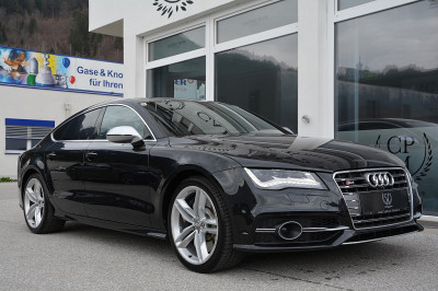 Audi S7 Sportback 4,0 TFSI quattro S-tronic**CARBON**AAS**LED**BOSE**GSD** bei BM || Car Point Mayer in