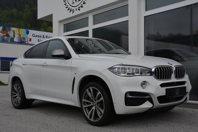 BMW X6 M50d Sport Activity Coupé Österreich-Paket Aut.**M-SPOTPAKET**LED**SURROUND VIEW**HUD**H&K**EURO6** bei BM || Car Point Mayer in